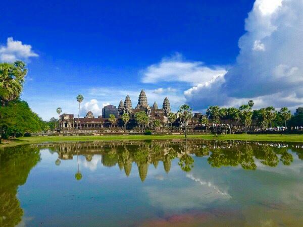 アンコールワット(Angkor Wat)へ出発