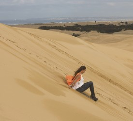 大砂丘4輪バギー体験とサンドボーディング