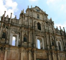 世界遺産観光(聖ポール天主堂跡・旧城壁・ナーチャ廟 )
