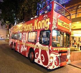 オープントップバス乗車