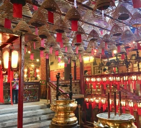 香港最古のお寺・文武廟(マンモウミュウ)見学