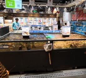 スーパーマーケット 盒马鮮生(ハーマンシェンシャン)見学