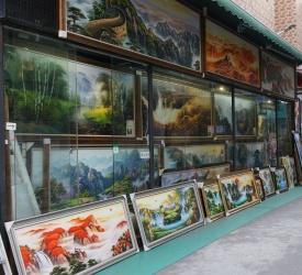 大芬油画村 見学