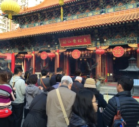 風水で有名なお寺『黄大仙』で香港風の初詣!