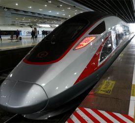 高速鉄道【G1006】にご乗車になり、韶関駅へ向けて出発