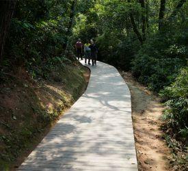 丹霞山国立公園へ入場