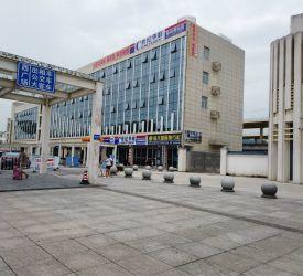 桂林北駅 到着、解散