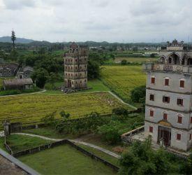 世界遺産登録の村「自力村」見学