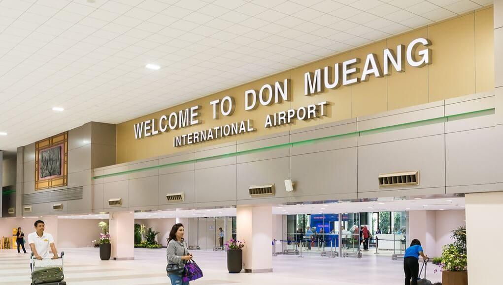 ドンムアン空港到着