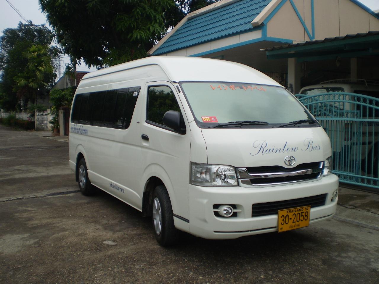 チェンマイ市内ご宿泊ホテルにお迎え、チェンライへ向けご出発
