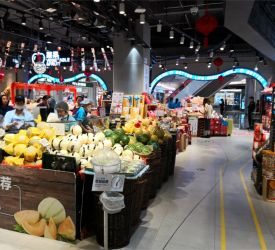Iot スーパーマーケット 盒马鮮生(ハーマンシェンシャン)見学