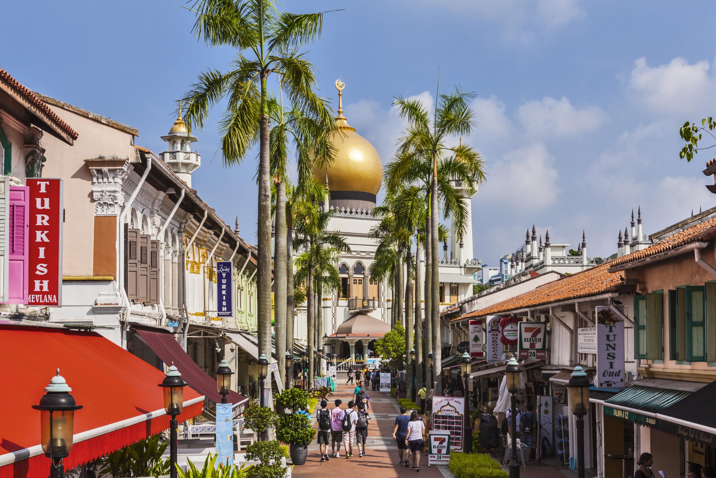 シンガポールで最大!黄金に輝くイスラム教寺院「サルタンモスク」とアラブ人街散策