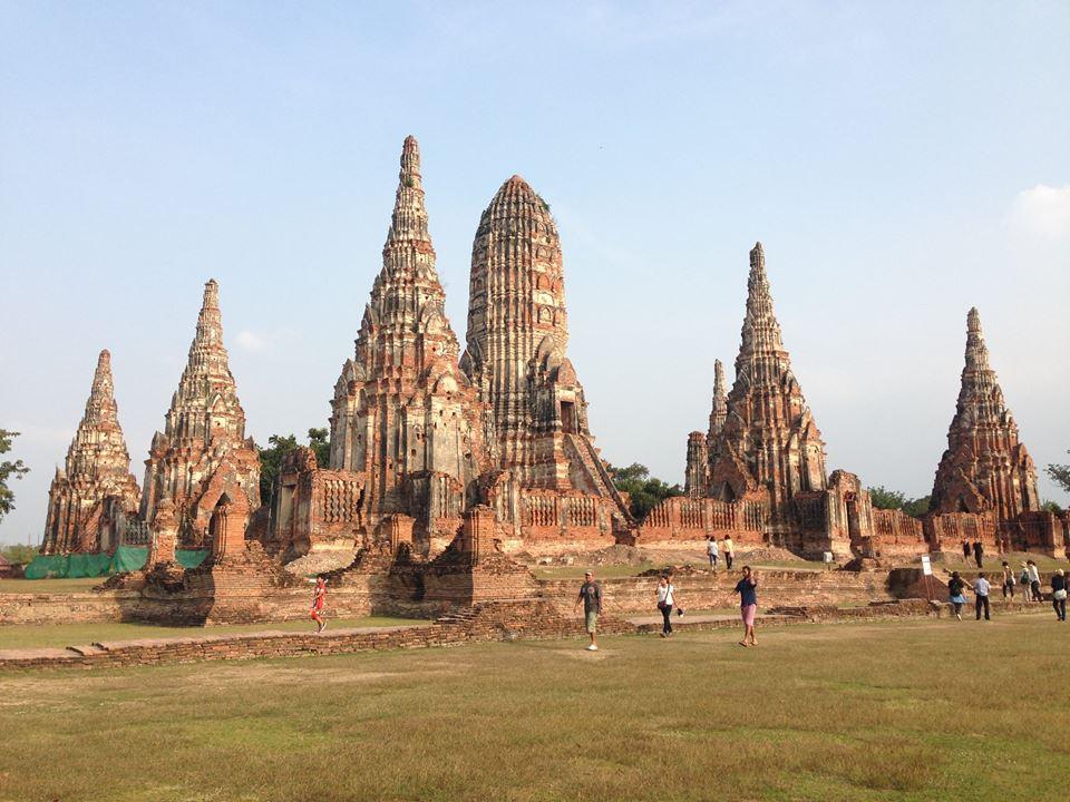 隣国カンボジアのクメール風寺院「ワットチャイワッタナラーム(Wat Chai Wattanaram)」