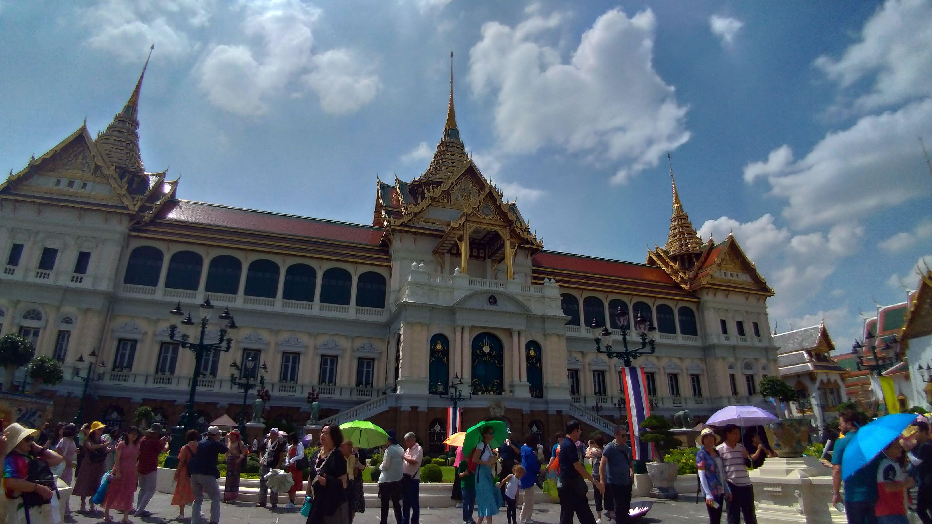 ラマ5世建立の『王宮』