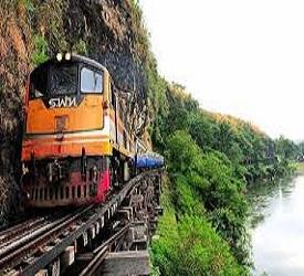 泰緬鉄道の乗車体験