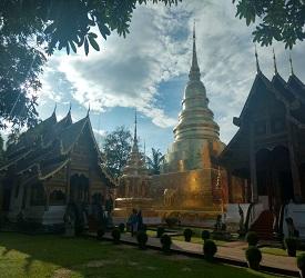 チェンマイ市内寺院