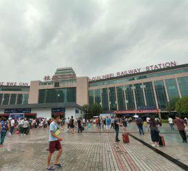 桂林北駅 到着