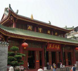 広州最古の花塔を有する「六榕寺」へご案内