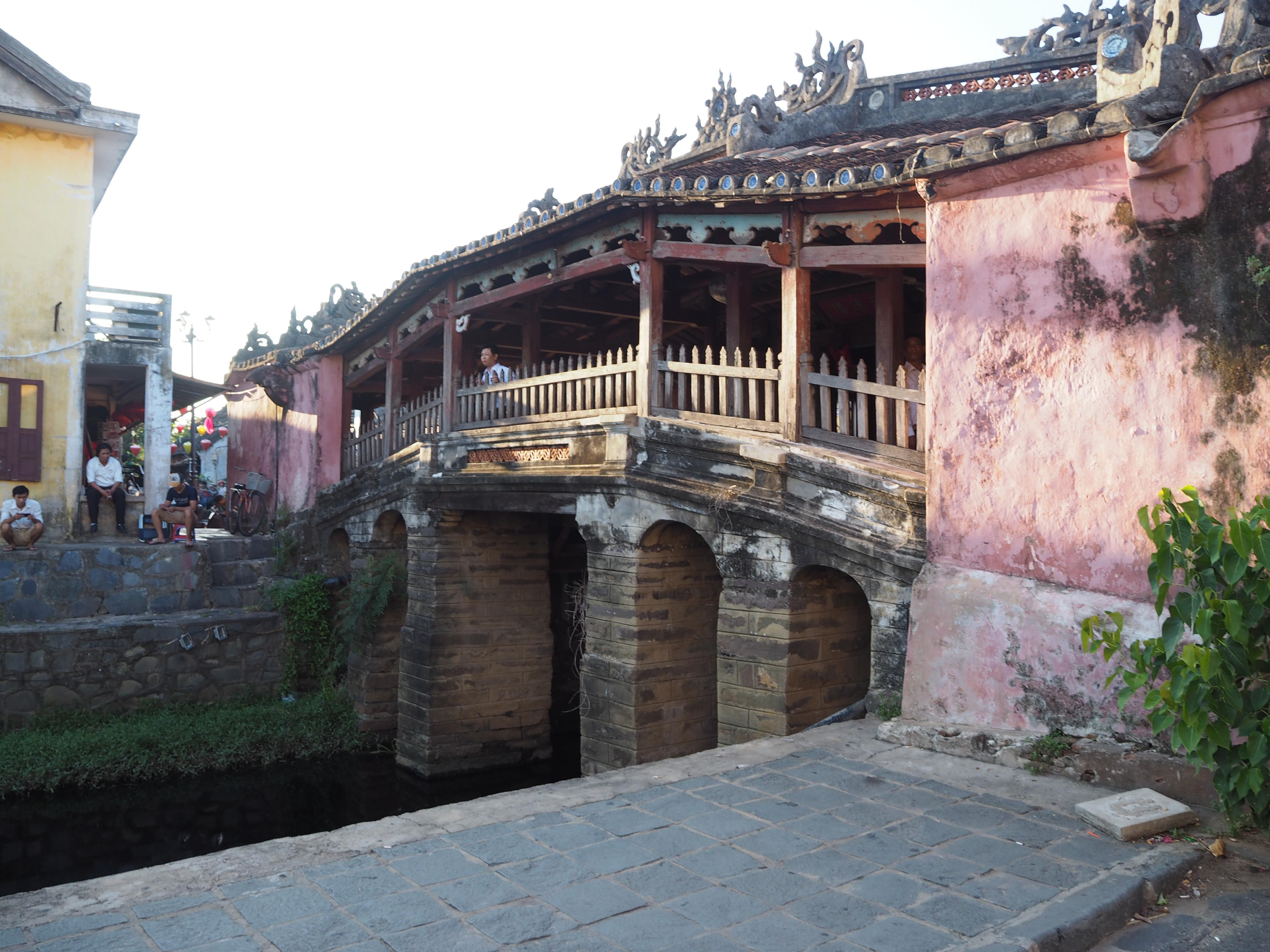 世界文化遺産・ホイアンの街に到着