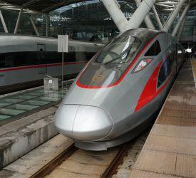 高速鉄道【G3006】にご乗車になり、潮仙駅へ向けて出発
