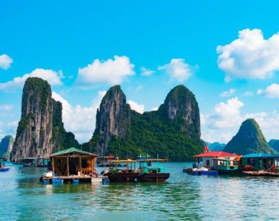 【ベトナム】タイ航空で行く!世界自然遺産ハロン湾!2泊3日(バチャン観光つき)