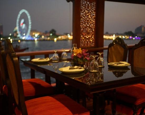 超豪華タイ料理のフルコース!バーンカニタディナークルーズ <乗船チケット/現地集合・ホテル往復送迎プラン有り/サンセットクルーズあり>