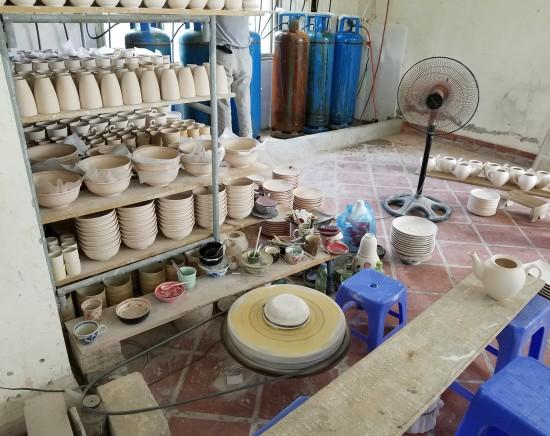 【ハノイ】陶器の村・バッチャン村観光