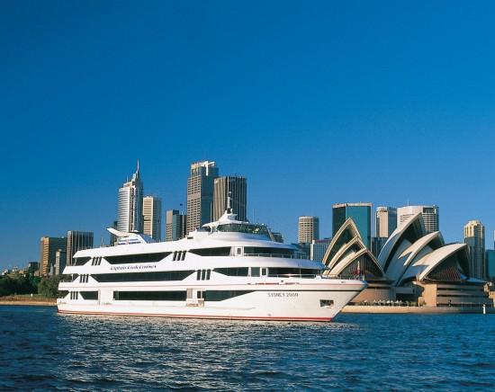 【シドニー】キャプテンクック・サイトシーイングクルーズ<ティータイム/観光/選べるプラン/チケット>