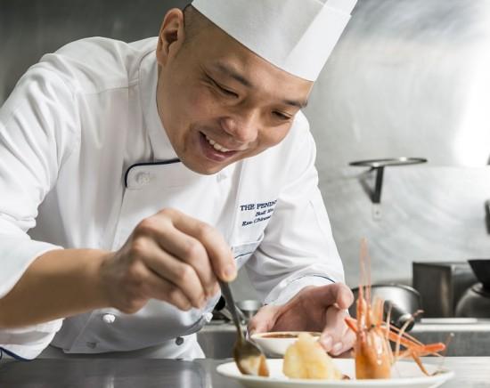 ペニンシュラホテル メイジャン(MEI JIANG ) 広東料理のフルコース<ミールクーポン>