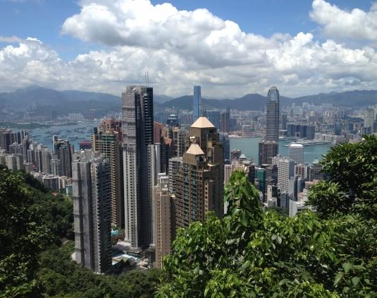 香港の有名観光地ビクトリアピークハイキング<日本語ガイド/100万ドルの夜景>