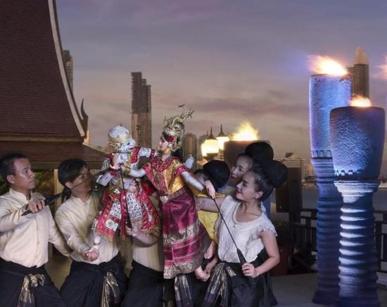 リバーサイドテラス 古典舞踊を鑑賞しながらホテルビュッフェ 5つ星アナンタラリバーサイド<ミールクーポン>