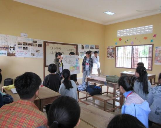 発展途上国カンボジアで海外インターンシップ5泊6日