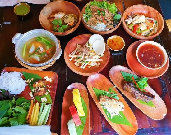 【ハノイ】ハノイ郷土料理 ホーム モック レストラン(HOME Moc Restaurant )」<ベトナム料理>