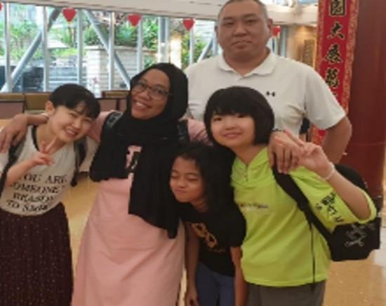 シンガポール ホームビジット体験