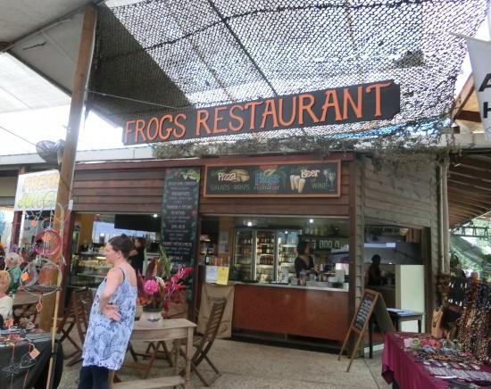 【ケアンズ 】キュランダ村にあるハンバーガーがお勧めのレストラン フロッグス <レストラン予約/セットメニュー>