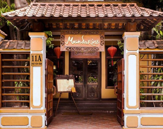【ホーチミン】高級ベトナム料理レストラン マンダリン「Mandarin」