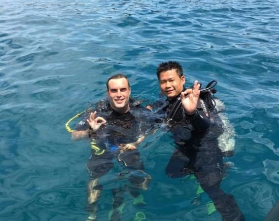 【ニャチャン】ダイビング 体験ツアー(ライセンスをお持ちでない方)<日本語ガイド/半日/昼食付き>