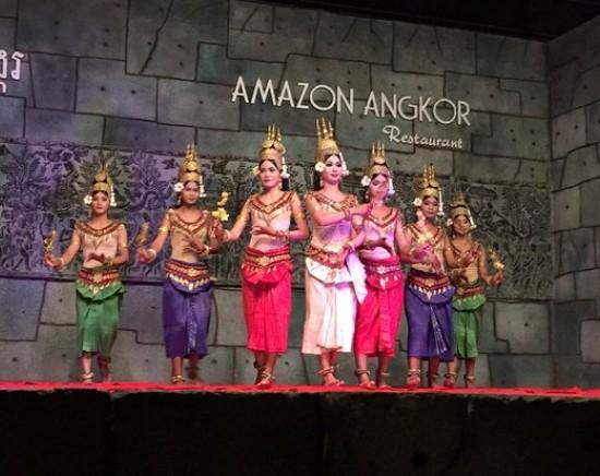 AMAZON ANGKORのミールクーポン