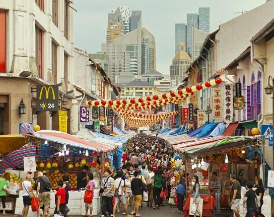 ノスタルジックシンガポール<トライショー乗車/午後半日観光>