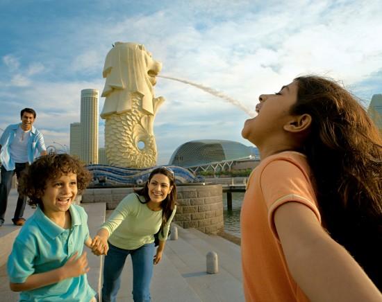 効率よく回る!シンガポール半日市内観光<日本語ガイド/選べる昼食プラン/マーライオン/植物園/富の噴水>