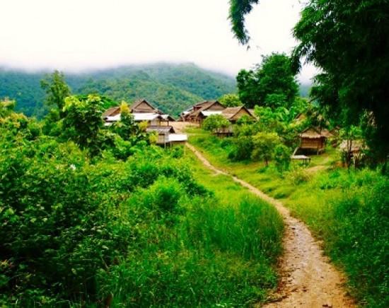 【ルアンパバーン】トレッキングで行く!モン族とカム族の村(センウドム村)観光