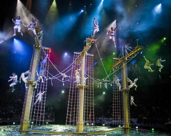 マカオで外せないショー、水舞間(ザ・ハウス・オブ・ダンシングウォーター)の鑑賞チケット<バウチャー/選べる時間/選べる座席>