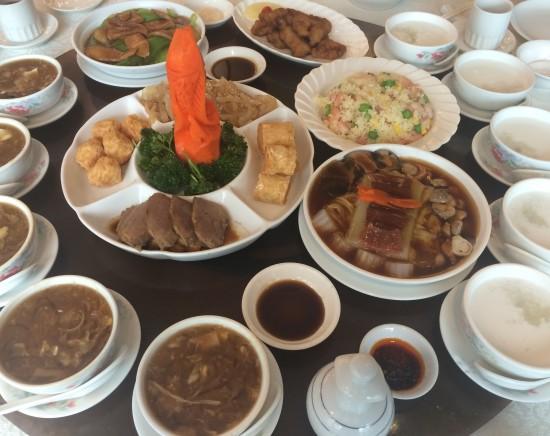 潮州料理レストラン、潮州城で味わう鮑・フカヒレ・燕の巣の中国三大珍味セットメニュー<ミールクーポン>