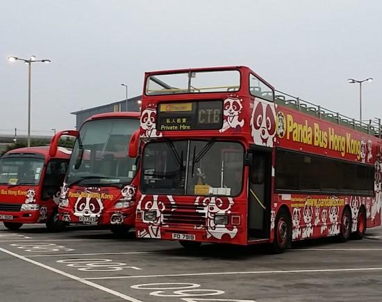 香港市内 貸切オープントップバス手配 <専用車利用│選べる日本語ガイドの有無│1~55名様に対応>