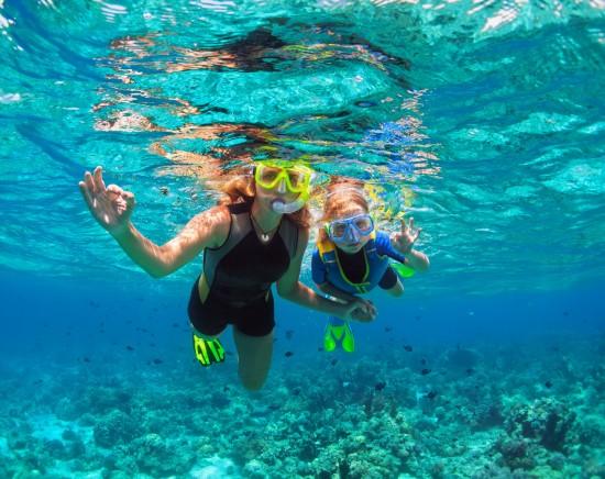 無人島で体験シュノーケリングのツアー<日本語ガイド/シュノーケリング/見学可能/指定ホテル送迎>