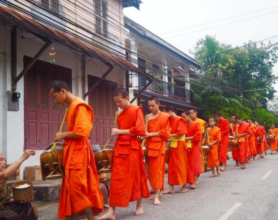 【ラオス】世界文化遺産の街ルアンパバーン泊2泊3日