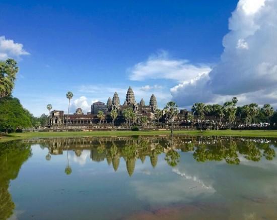 【カンボジア】バンコク出発は少しのんびり♪世界遺産アンコールワット クメール文化を訪ねて 2泊3日