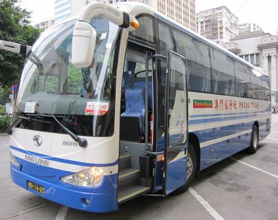 <朝限定!> マカオ市内ホテル間片道送迎バス
