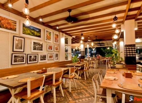 【レストラン・往復送迎付き】インドネシア王宮料理|ブンブバリ