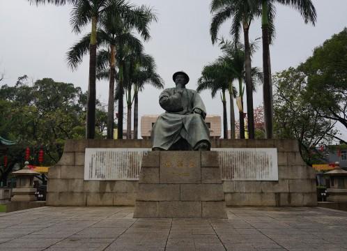 虎門アヘン戦争博物館(林則徐記念館)~ 中国の英雄、林則徐の銅像